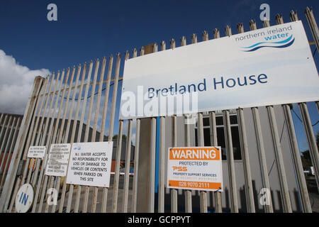 stock northen ireland water depot belfast stock photo royalty free image 111139048 alamy. Black Bedroom Furniture Sets. Home Design Ideas