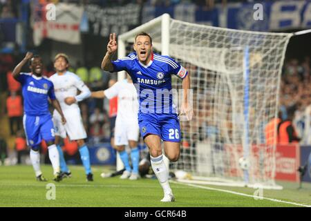 Soccer - UEFA Champions League - Group F - Chelsea v Olympique de Marseille - Stamford Bridge - Stock Photo