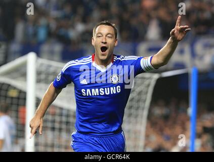 Soccer - UEFA Champions League - Group F - Chelsea v Olympique de Marseille - Stamford Bridge - Stock Photo