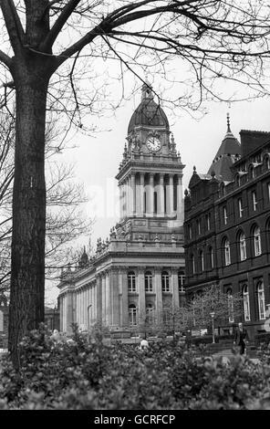 Buildings and Landmarks - Leeds - Stock Photo