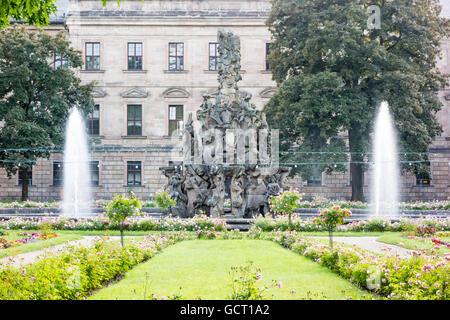 Botanischer Garten, Erlangen, Bavaria, Germany - Stock Photo