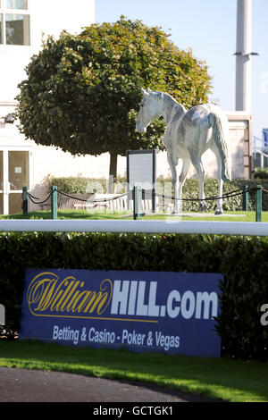 Horse Racing - Kempton Park - Stock Photo