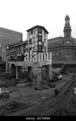 Buildings and Landmarks - Manchester - Stock Photo