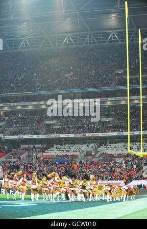 American Football - NFL - San Francisco 49ers v Denver Broncos - Wembley Stadium - Stock Photo