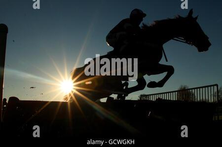 Horse Racing - First November Meeting - Leicester Racecourse Stock Photo