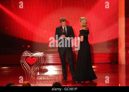 Prince Harry honoured for charity work - Stock Photo