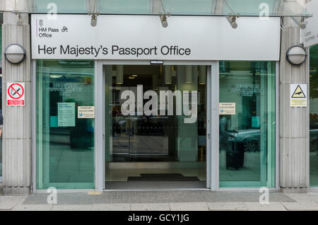 passport office at eccleston square london stock photo. Black Bedroom Furniture Sets. Home Design Ideas