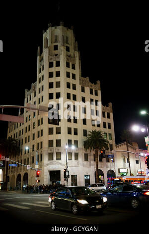 Hollywood First National bank building, Los Angeles Stock ...