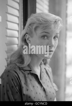 Actress Susan Oliver. Oliver's career had not yet taken off; one of her more memorable roles came in 1965, when - Stock Photo