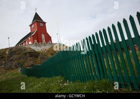 Church, Sisimiut, Greenland - Stock Photo