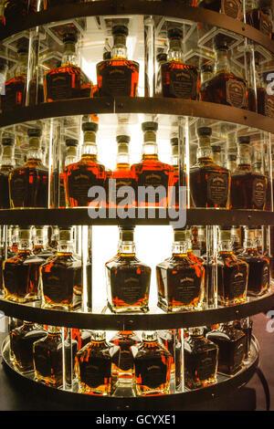 bottles of jack daniel s single barrel select whiskey in tree shaped