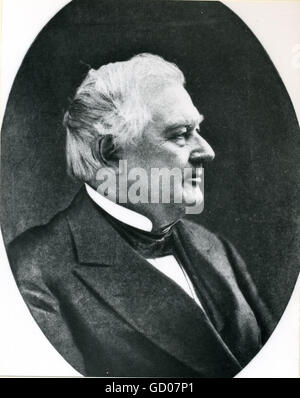 Millard Fillmore (1800-1874), 13th President of the United States. - Stock Photo