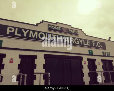 Plymouth Argyle Football Club At Home Park