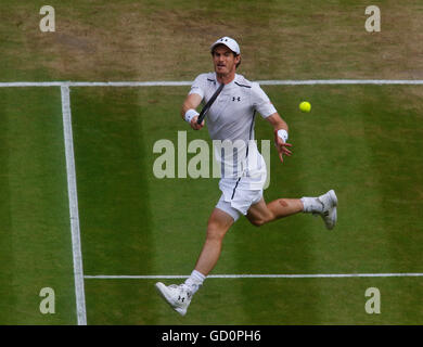10.07.2016. All England Lawn Tennis and Croquet Club, London, England. The Wimbledon Tennis Championships Day 14. - Stock Photo