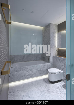 Bathroom Interior Fitzroy Place London United Kingdom Architect Johnson Naylor