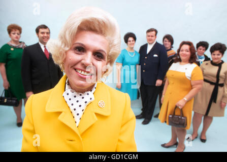 Jean Nidetch, cofounder of Weight Watchers - Stock Photo