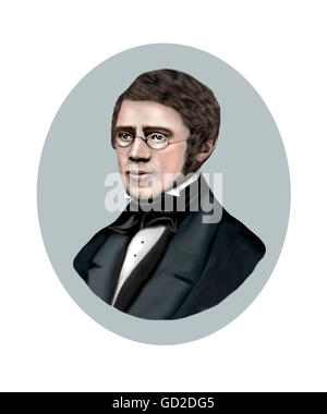Alfred Russel Wallace, 1823-1913, Naturalist, Explorer - Stock Photo