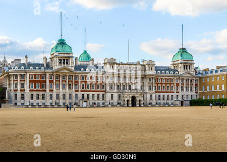 Old Admiralty Building next to Horse Guards Parade in London - Stock Photo