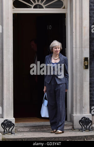London, UK. 12th July, 2016. Theresa May arrives for David Cameron's last cabinet meeting. Credit:  Nigel Pacquette/Alamy - Stock Photo