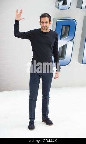 London, UK. 12th July, 2016. Dynamo attends the UK Premiere of 'Star Trek Beyond' at Empire Leicester Square on - Stock Photo