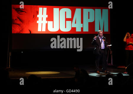 London, UK. 12th July 2016. Mark Serwotka for the #JC4PM in support of #JC leadership at the O2 Forum Kentish Town, - Stock Photo