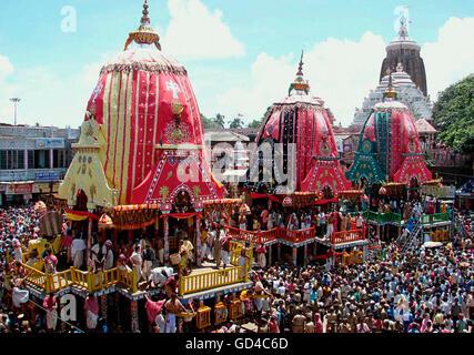 Rath Yatra Festival - Stock Photo