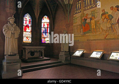 Melanchthon House, Memorial Hall, Bretten, Kraichgau, district of Karlsruhe, Baden-Wurttemberg, Germany - Stock Photo