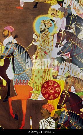 Detail of Shah Jahan - Stock Photo