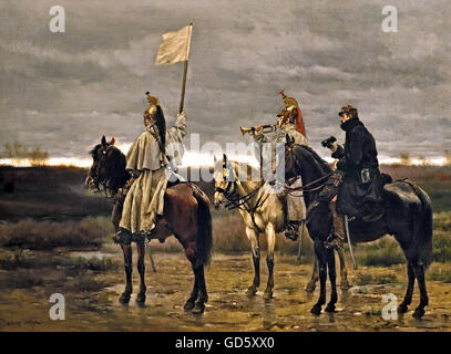 The Armistice of 28 January 1871 The Franco-Prussian War or Franco-German War (German: Deutsch-Französischer Krieg, French: Guerre franco-allemande), often referred to in France as the War of 1870 (19 July 1870 – 10 May 1871), was a conflict between the Second French Empire of Napoleon III and the German states of the North German