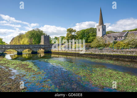 Glenarm (Irish: valley of the army). a village dating back to Norman times set in a Conservation Area, Northern - Stock Photo