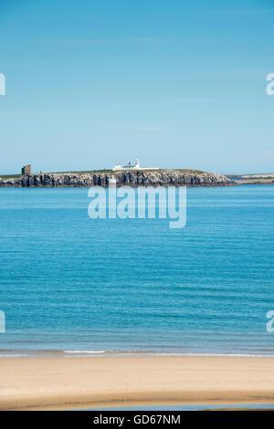 Farne Islands off the coast of Northumberland, England - Stock Photo