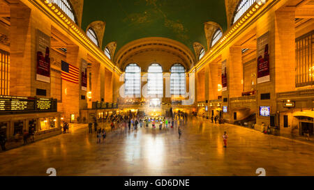 Grand Central Terminal in New York City. - Stock Photo