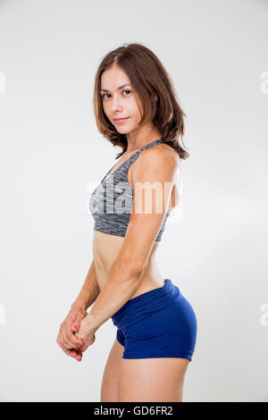how to become a fitness clothing model