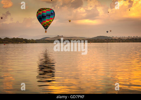 The Canberra Balloon Spectacular 2016 - Stock Photo