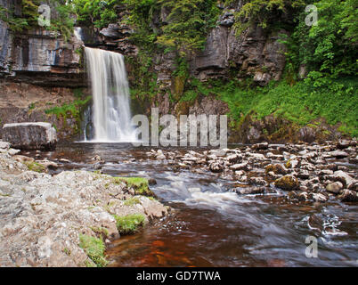 Thornton Force, Ingleton Falls - Stock Photo