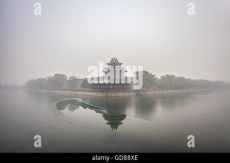 The Imperial Palace watchtower - Stock Photo