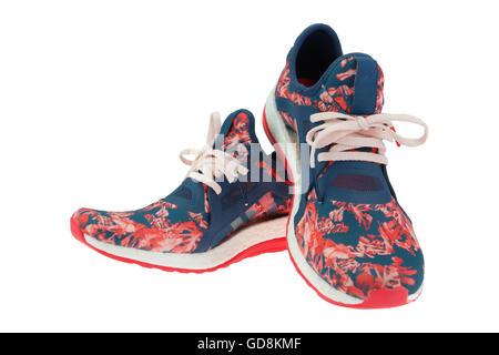 athletic shoes isolated - Stock Photo