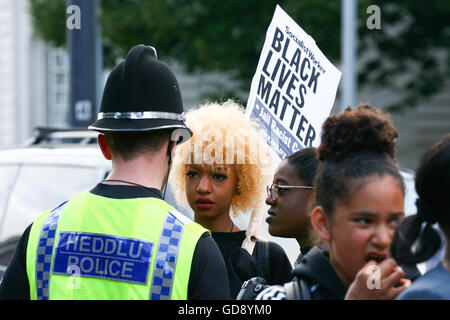 Cardiff, UK. 13th July, 2016.  © Christopher Tomlinson/Alamy Live News - Stock Photo