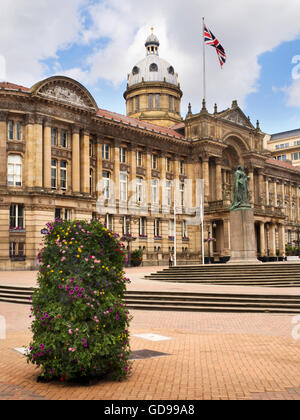 Council House Building in Victoria Square Birmingham West Midlands England - Stock Photo