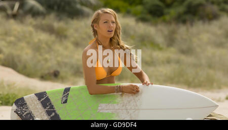 THE SHALLOWS 2016 Columbia Pictures film with Blake Lively - Stock Photo