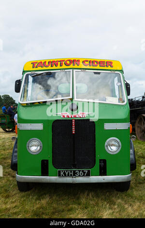 Leyland Octopus Commercial vehicle at exeter rally - Stock Photo