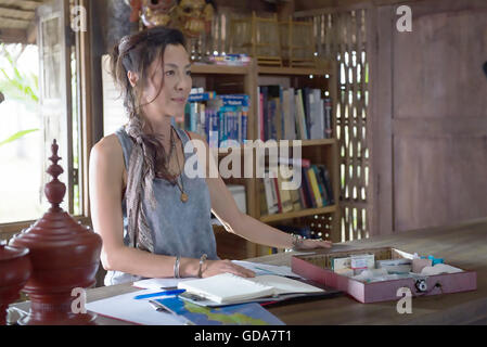 MECHANIC : RESURRECTION 2016 Chartoff-Winkler Productions film with Michelle Yeoh - Stock Photo