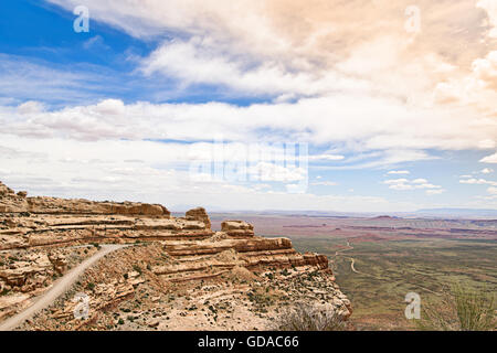 Valley of the Gods in Utah, USA - Stock Photo
