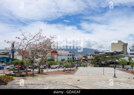 Costa Rica, San Jose, and Plaza de La Democracia, San Jose - Stock Photo