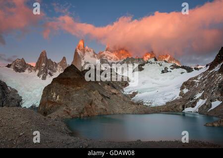 Cerro Fitz Roy,Argentina,Patagonia - Stock Photo