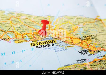pin turkey map on - photo #6
