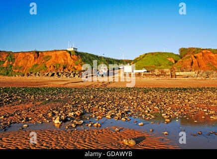 A view of the beach and access on the North Norfolk coast at East Runton, Norfolk, England, United Kingdom. - Stock Photo