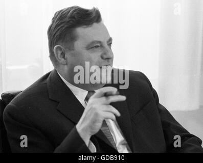 Franz Josef Strauss - Stock Photo