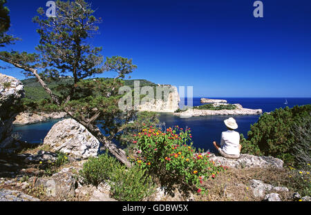 Sant Miguel, Ibiza, Balearic Islands, Spain - Stock Photo
