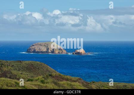 USA,Hawaii,Molokai,soutside of the island - Stock Photo